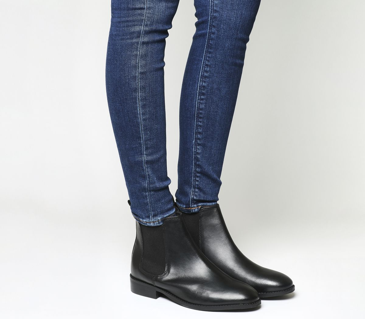 eac11f1bd Office Bramble Chelsea Boots Black Leather - Ankle Boots