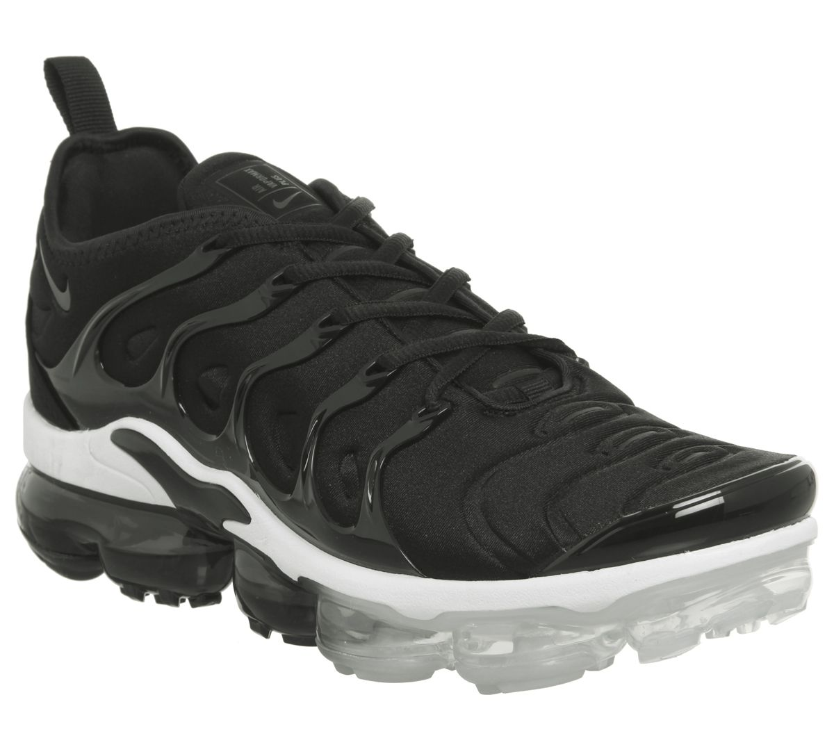 c9a7af0cd072 Nike Air Vapormax Plus Trainers Black White - His trainers