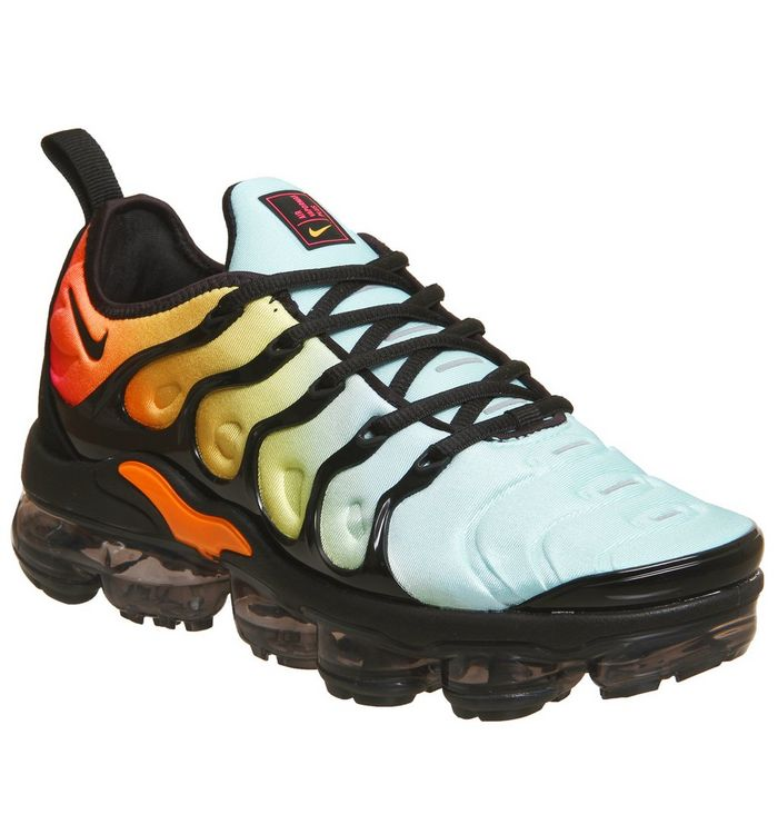 089d0863 Air Vapormax Plus; Nike Vapormax, Air Vapormax Plus, Black Black Bleached  Aqua Sulfur ...