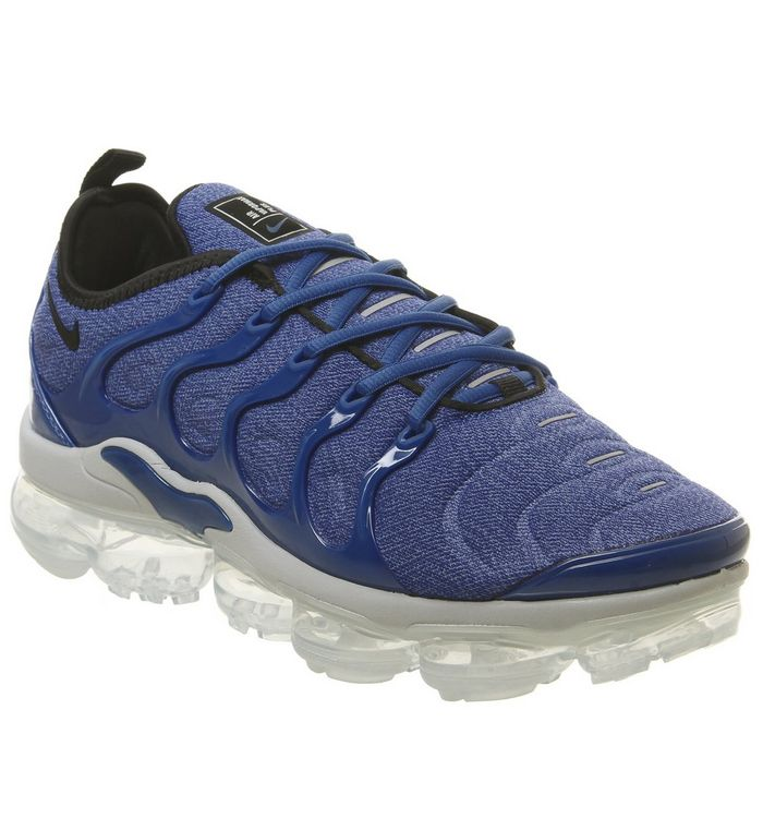 5056c81ab807c Nike Air Vapormax Plus Trainers Game Royal Blackwolf Grey Racer Blue ...