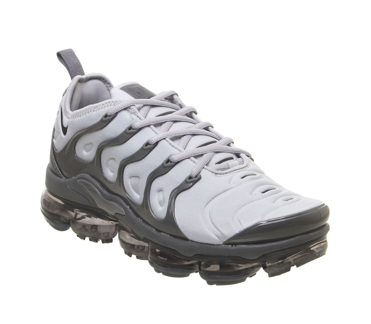 6a7e4fe22e Nike Vapormax Air Vapormax Plus Trainers Wolf Grey Black Grey - His ...