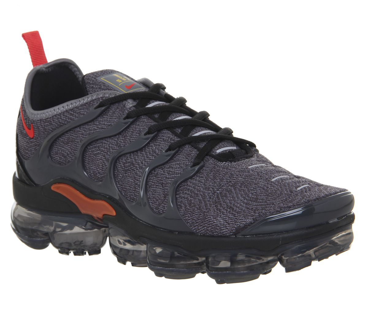 quality design affordable price lace up in Nike Vapormax Air Vapormax Plus Trainers Cool Grey Team Orange ...