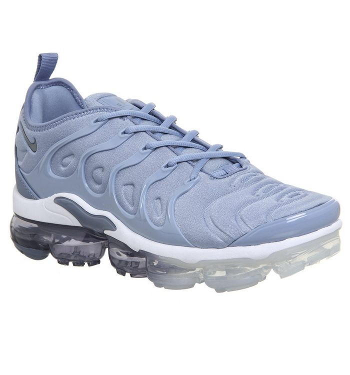 8a0c38d30a9 Nike Vapormax Air Vapormax Plus Trainers Work Blue Cool Grey ...
