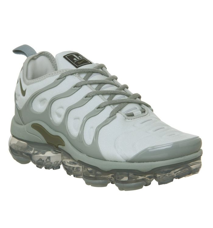 78734414f365e Nike Vapormax Air Vapormax Plus Trainers Medium Olive Mica Green ...