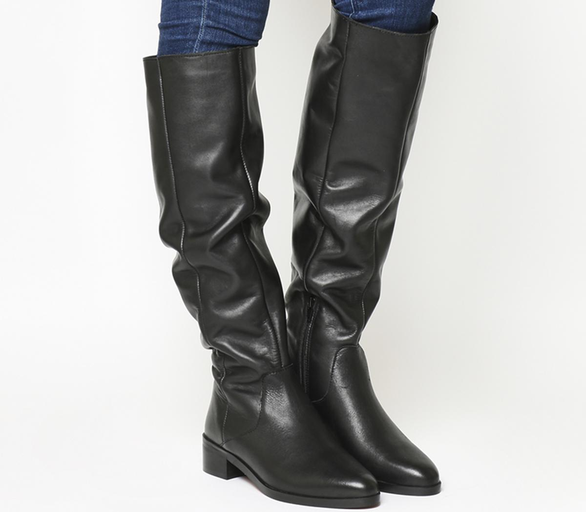 Kove- Flat Slouch Suede Boot