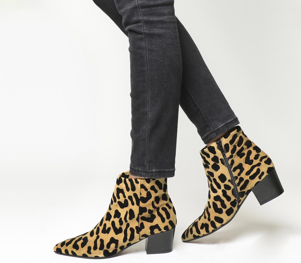 Aruba- Pointed Block Heel Boot