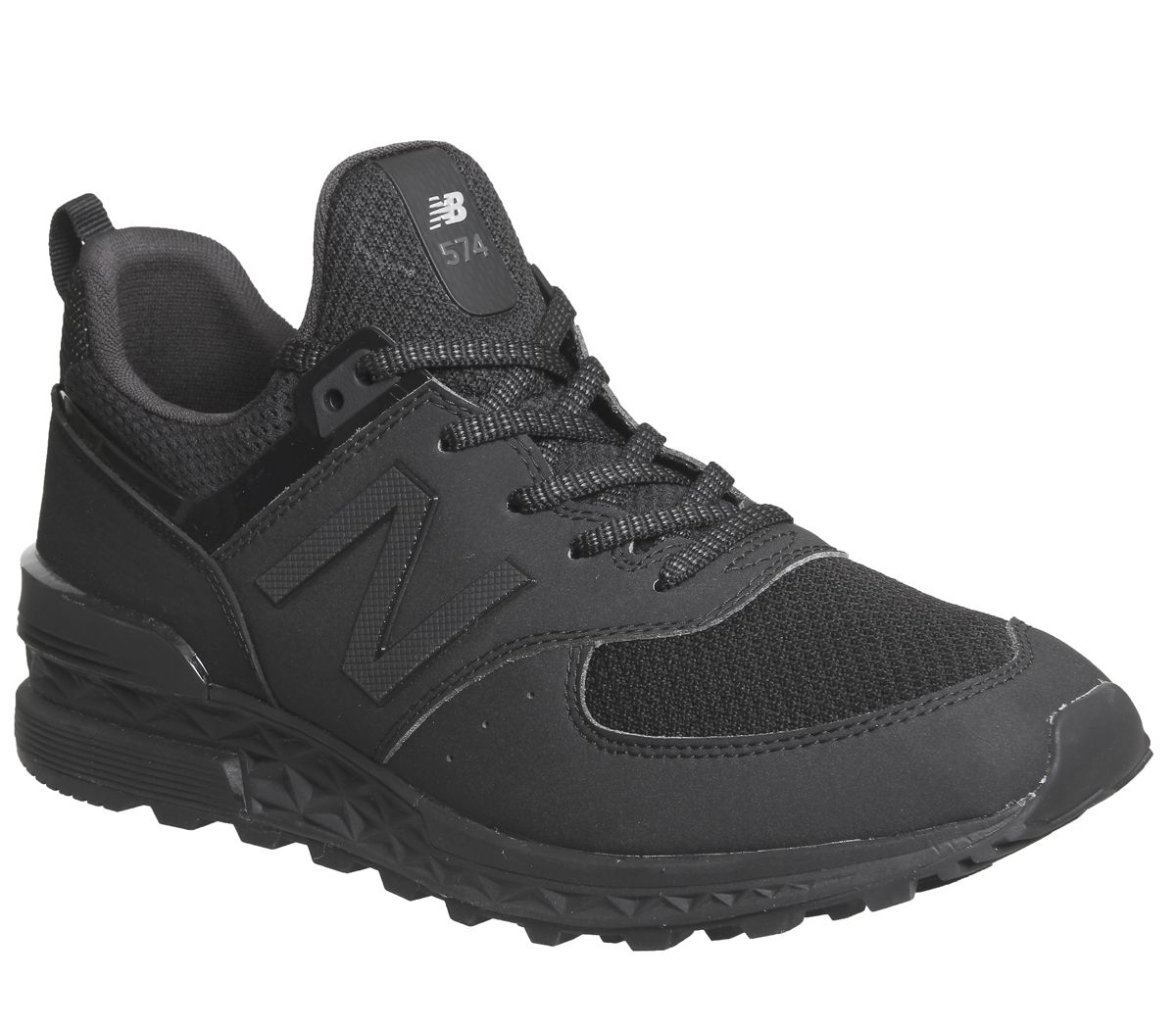 27fa696144d5f New Balance 574s Black Tech - His trainers