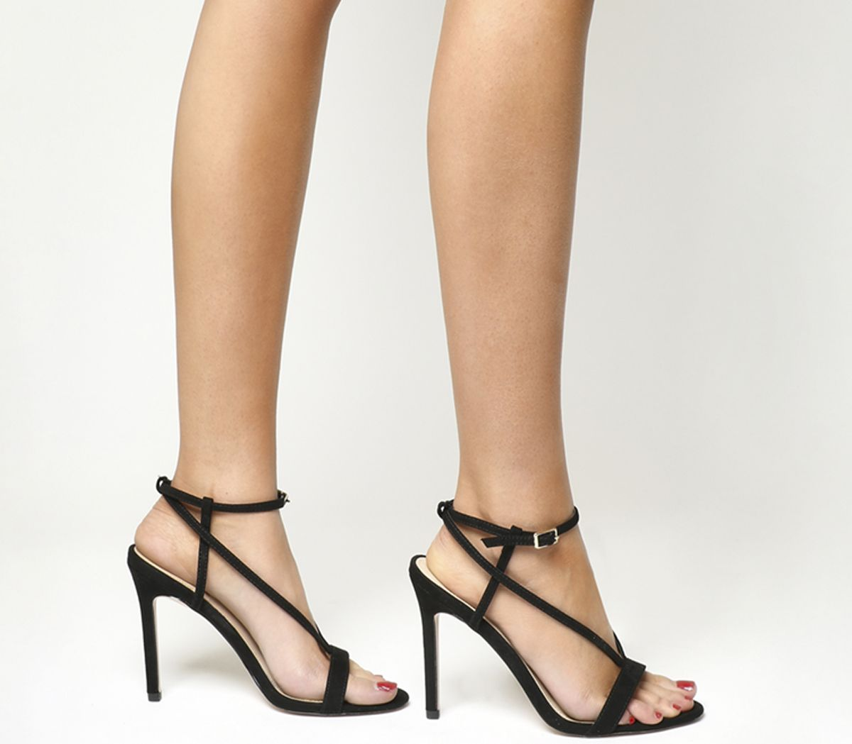 d6804c600db Office Heartless Strappy Sandals Black - High Heels