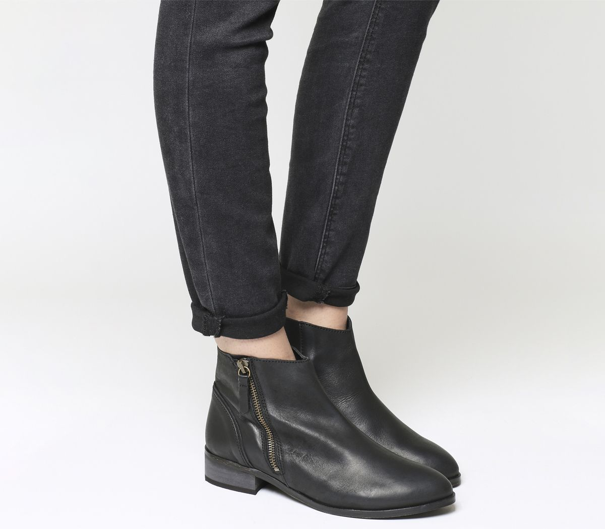 f85dd04b041 Accent Side Zip Boots