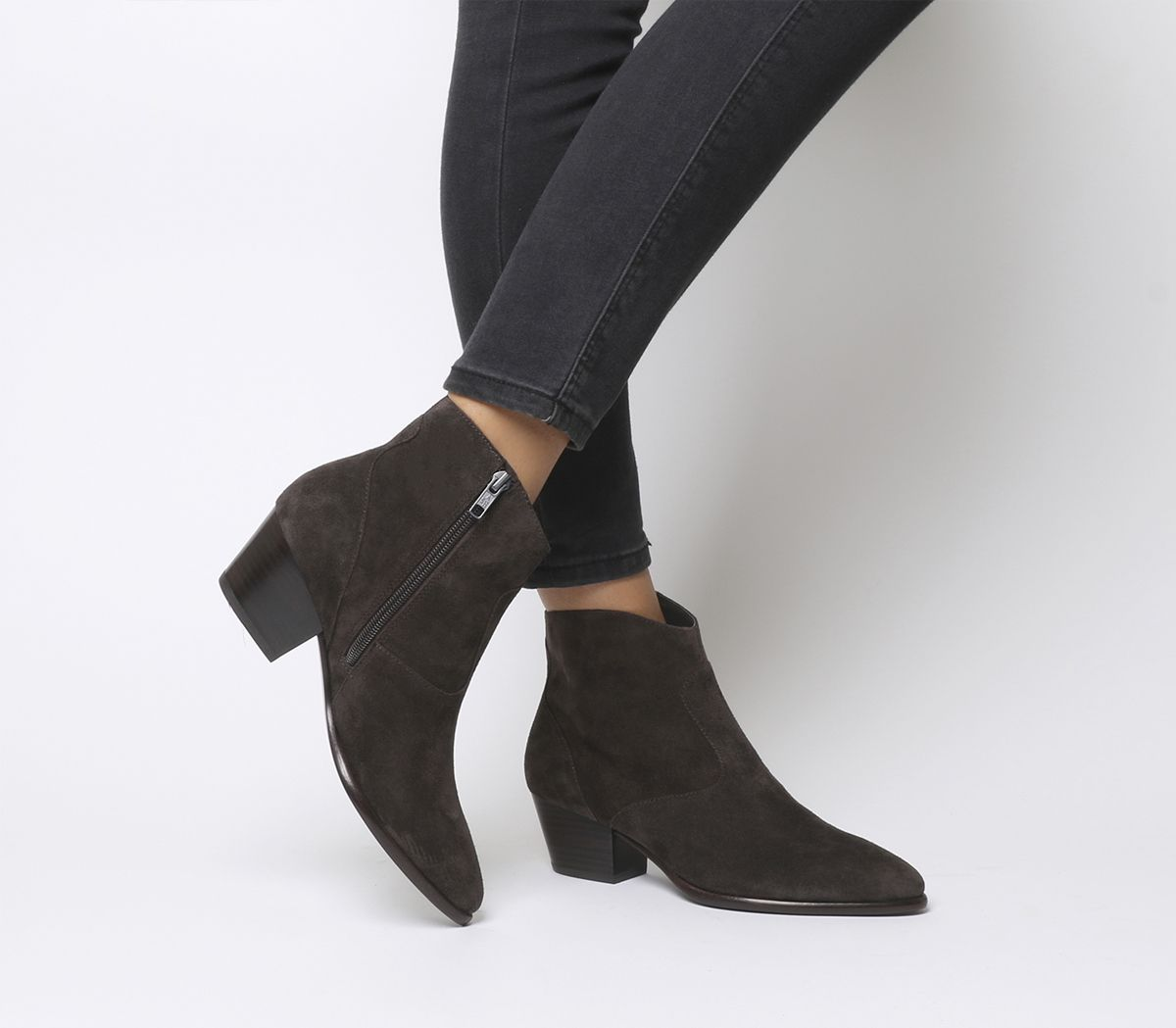 6979909a079 Ash Heidi Bis Ankle Boots Grey - Ankle Boots