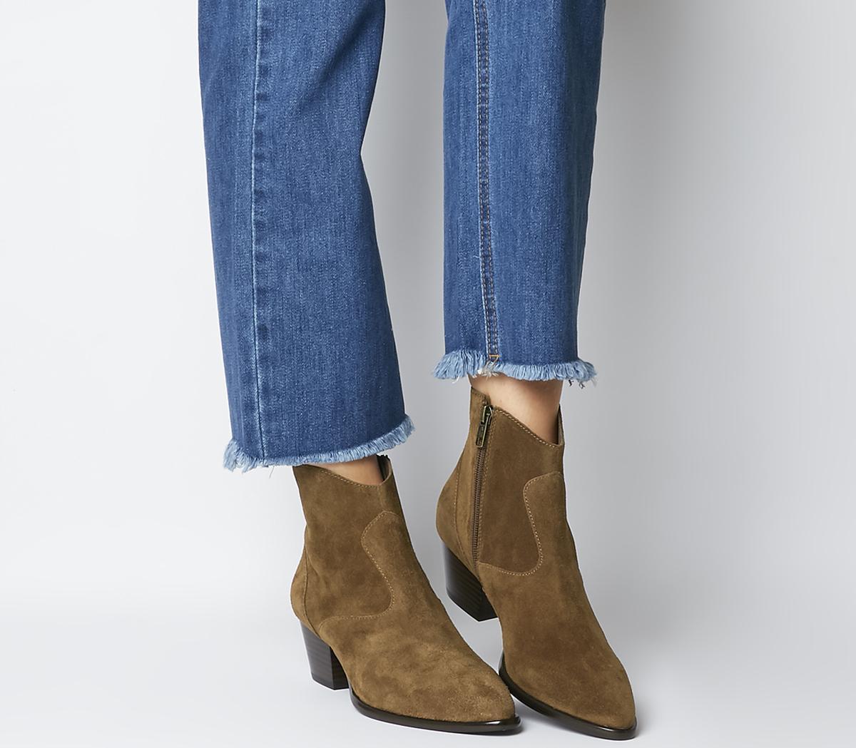 Heidi Bis Ankle Boots