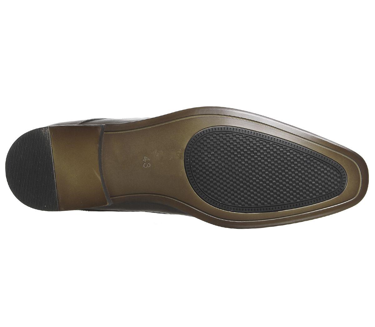 fa25bad3b85 Office Glide Plain Toe Shoes Choc - Smart
