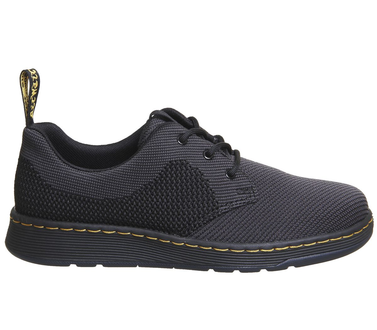 160c53cdd3f Dr. Martens Cavendish Knit Shoes Black Anthracite Knit - Flats
