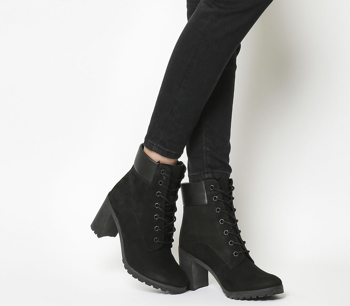 b6e9abd7047 Timberland Allington 6 Inch Lace Boots Black - Ankle Boots