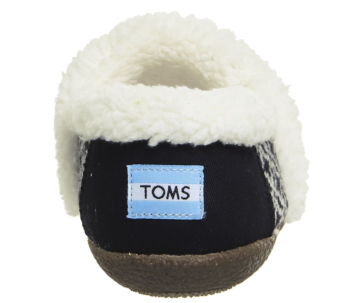 feb307f50bf Toms Toms Slippers Blackwhite Fair Isle - Flats