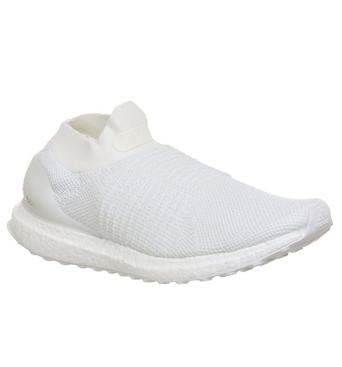 new concept d84b3 6dcb9 adidas Ultraboost Ultra Boost Laceless White - His trainers