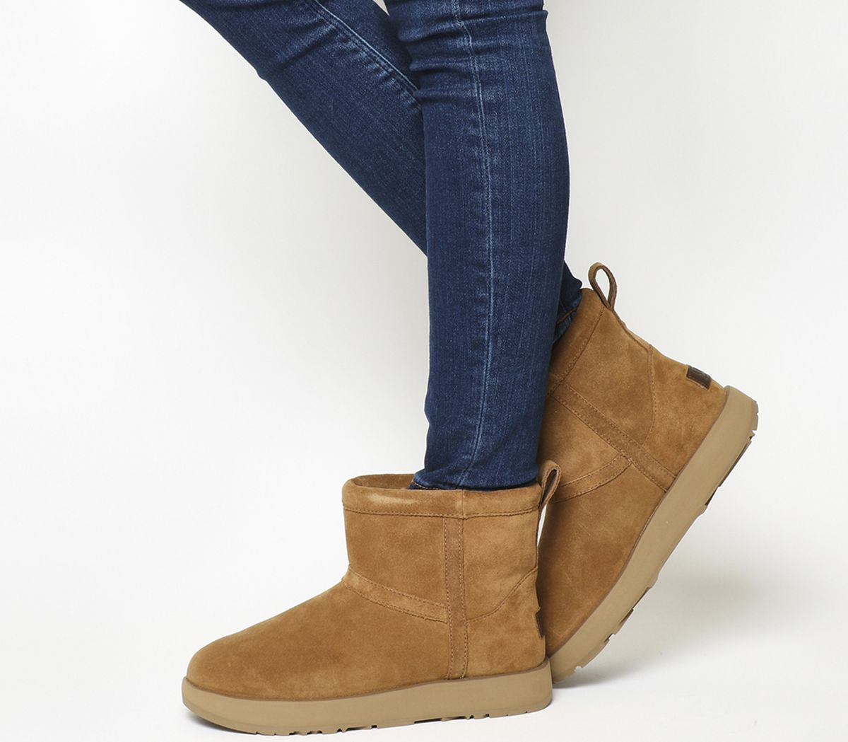 617376aafd UGG Classic Mini Waterproof Boots Chestnut Suede - Ankle Boots