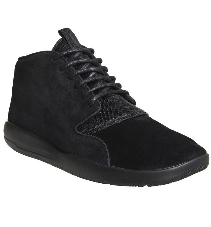 6d60114d2fb Jordan Eclipse Chukka Lea Trainers; Nike, Jordan Eclipse Chukka Lea Trainers,  Black Mono ...