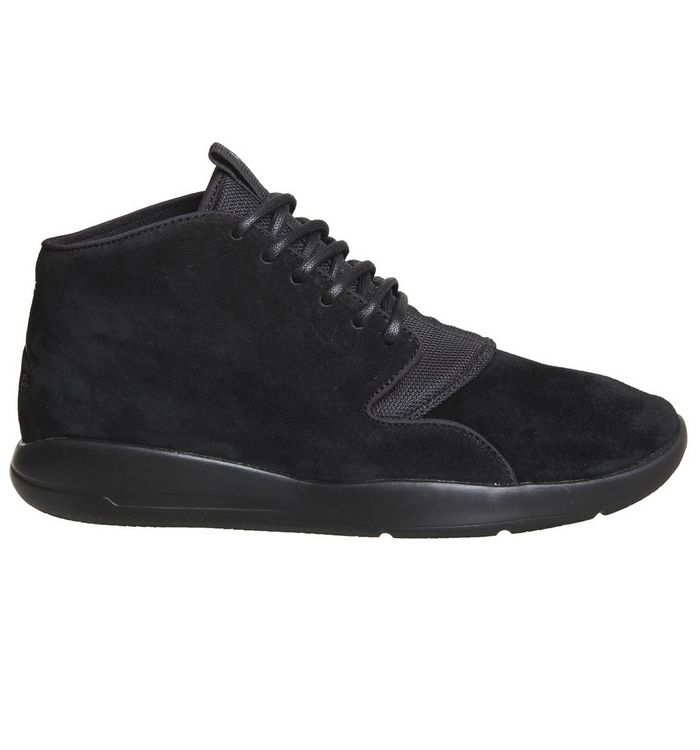 48dac2d88dd05a Nike Jordan Eclipse Chukka Lea Trainers Black Mono - His trainers