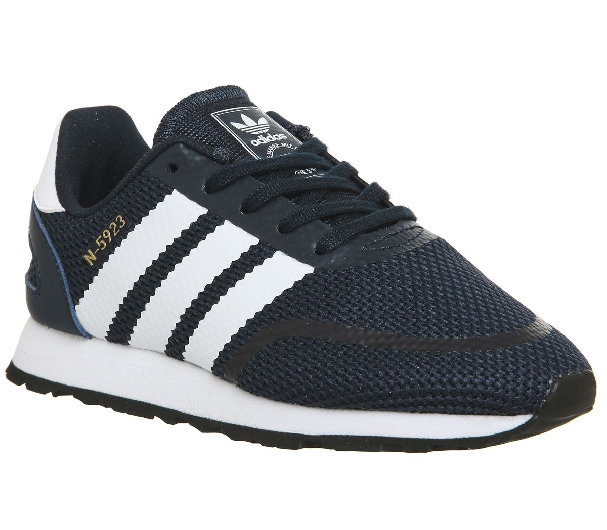 newest 94849 c991a adidas N-5923 Kids Trainers Collegiate Navy White - Unisex