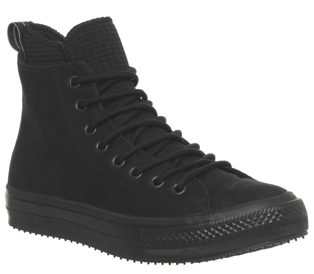 47e85a050658df Converse All Star Hi Wp Boots Black Mono - His trainers