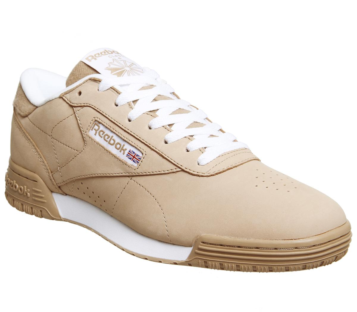 Reebok Exofit Lo Clean Pt Trainers Field Tan White His