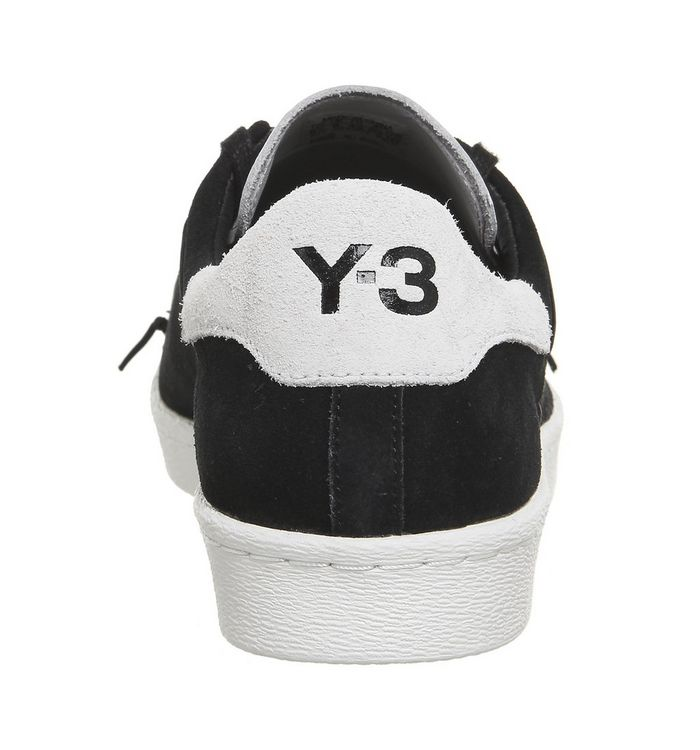 buy popular 817a9 4817b adidas Y3 Y-3 Superstar Knit Black White - Hers trainers