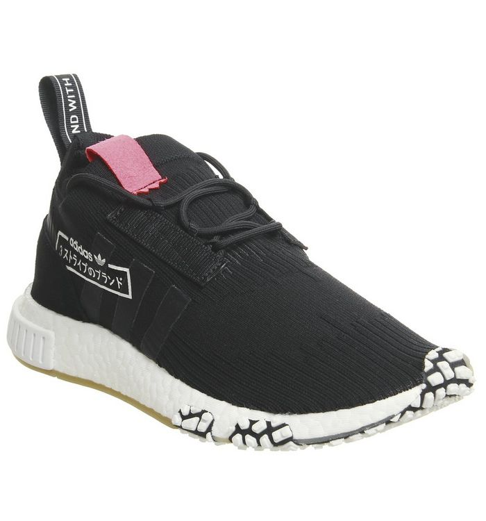 separation shoes 8debd d2f7a Nmd Racer Primeknit Trainers  adidas, Nmd Racer Primeknit Trainers, Core  Black Bluebird ...
