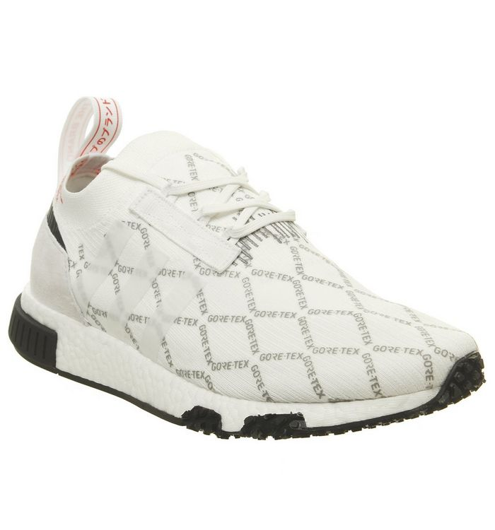 info for 21809 0a152 Nmd Racer Primeknit Trainers  adidas, Nmd Racer Primeknit Trainers, Goretex  White Shock Red ...