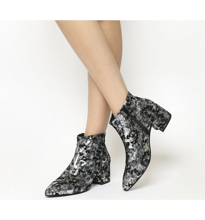 vagabond mya boot black silver