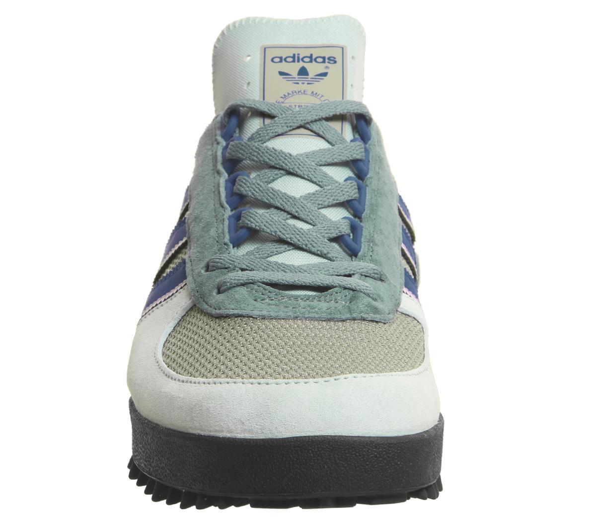 Authentic Adidas Originals Marathon TR ® (Men Size 8 11) Ash Green Chalk White