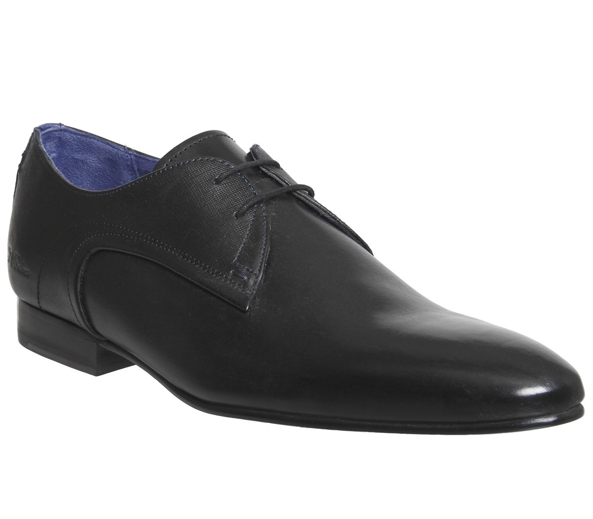 c7c4a3510 Ted Baker Peair Lace Up Black Leather - Smart