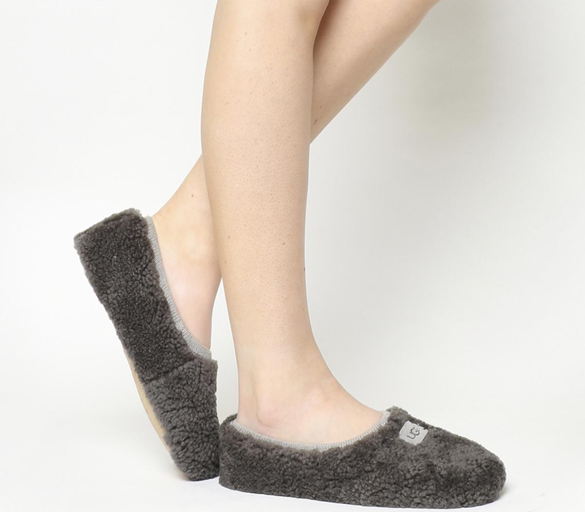 Persevering Genuine Pebble Leather Slip-on Black Shoes Size 7 Shapewear