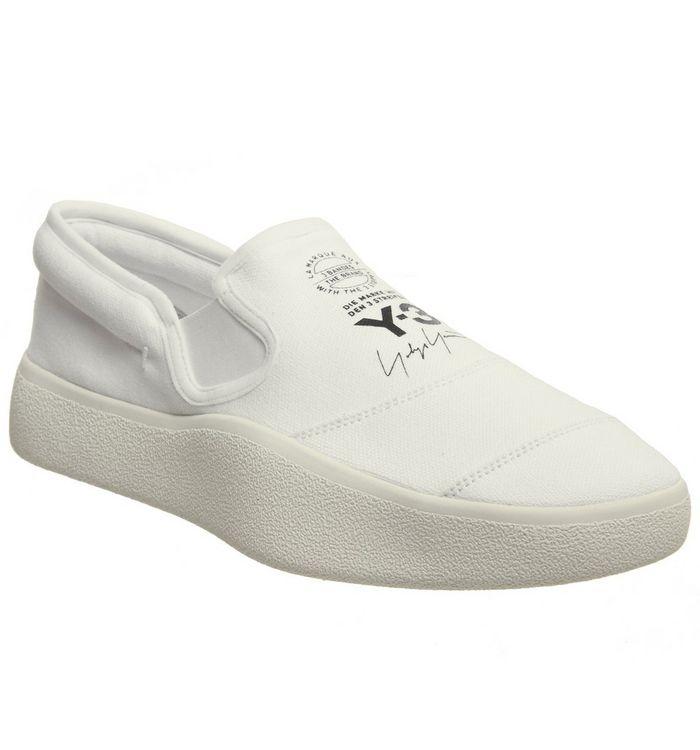b43deb410 adidas Y3 Y-3 Tangutsu White Mono - His trainers