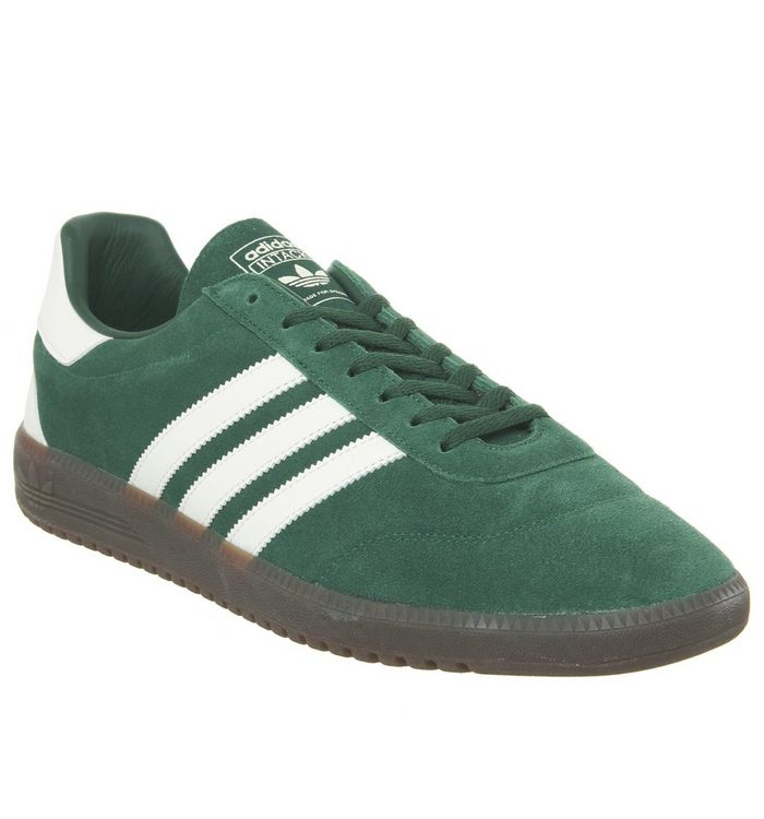uk availability 06fd7 64d65 Intack Spzl Trainers  adidas, Intack Spzl Trainers, Dark Green Off White Dark  Green ...