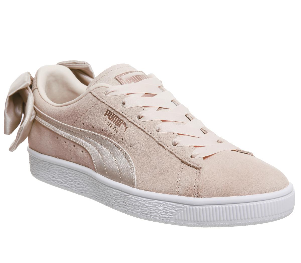 Puma Suede Bow Trainers