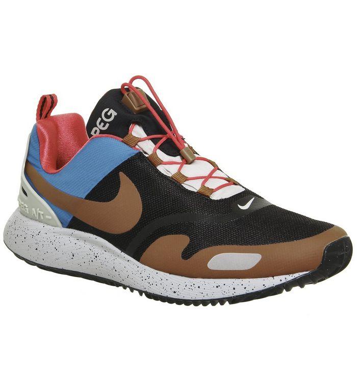 a67280347acc Nike Air Pegasus A t Winter Black Dark Russet Sand Qs - His trainers