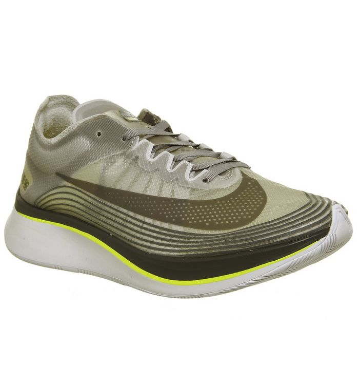 513301eac931 Nike Zoom Fly Trainers Sepia Stone Sonic Yellow - His trainers
