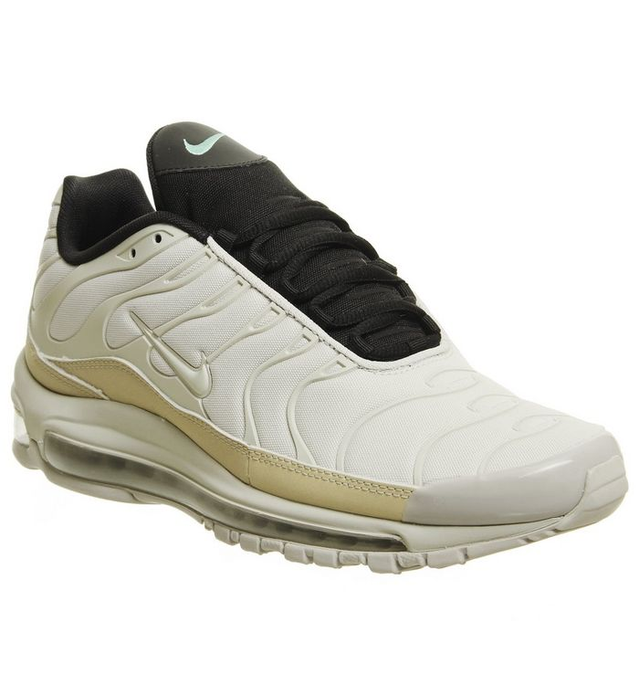 finest selection 79a81 53c2a ... Nike, Air Max 97 Plus Trainers, Light Orewood Brown String Black Qs ...