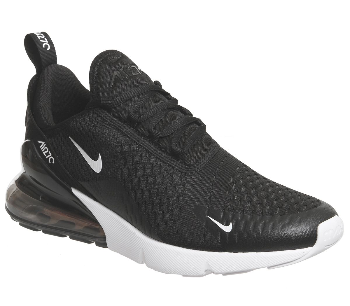 ce8c29208139 Nike Air Max 270 Trainers Black White - His trainers
