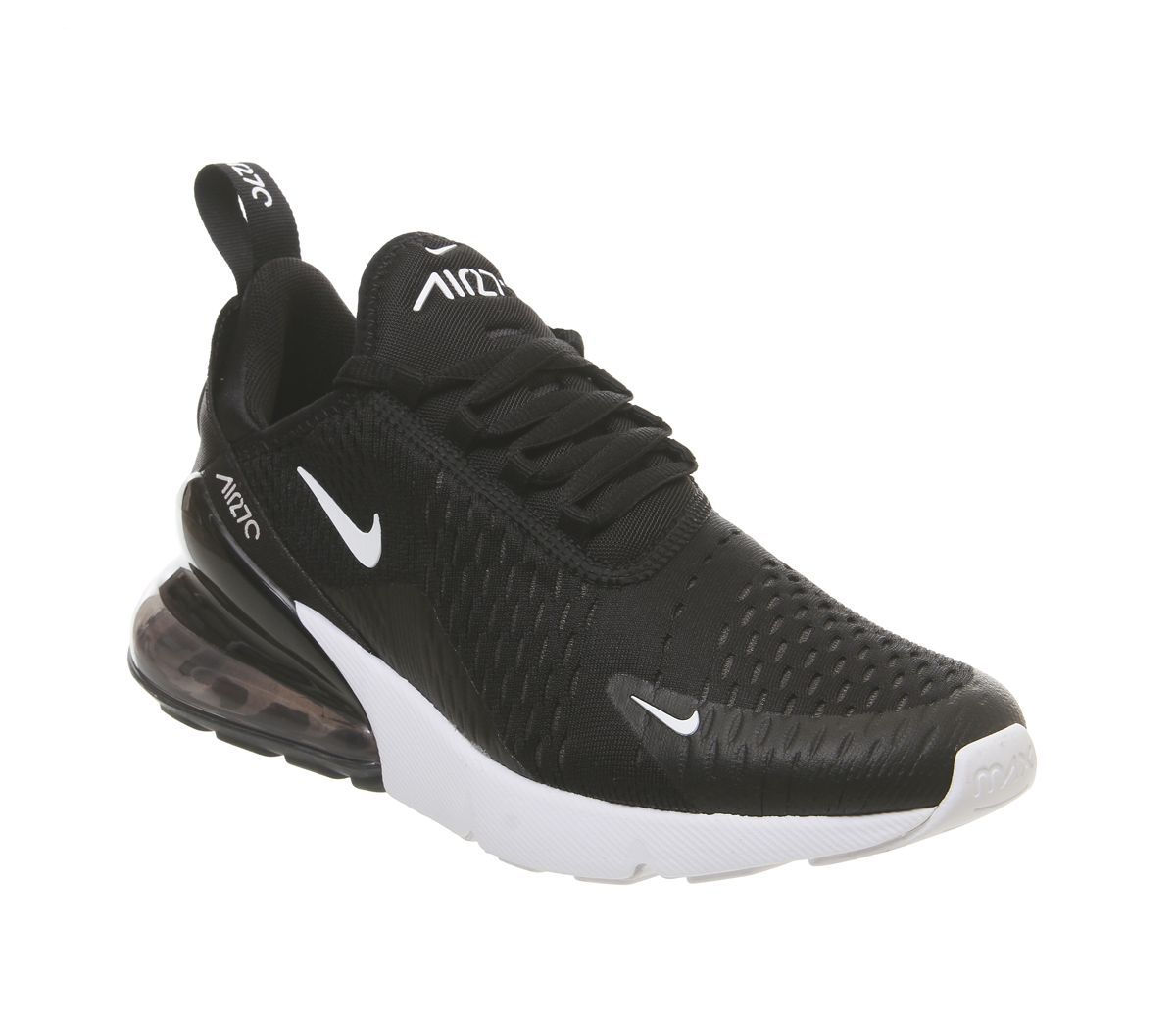 4c5654f26b6 Nike Air Max 270 Trainers Black Anthracite White F - Hers trainers