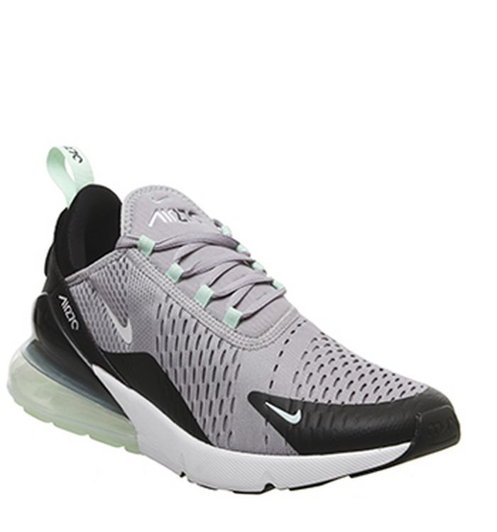 the latest 5a1ce 35acc 15-04-2019. Nike Air Max 270 Trainers Atmosphere Grey White Fresh Mint Black  Teal Tint
