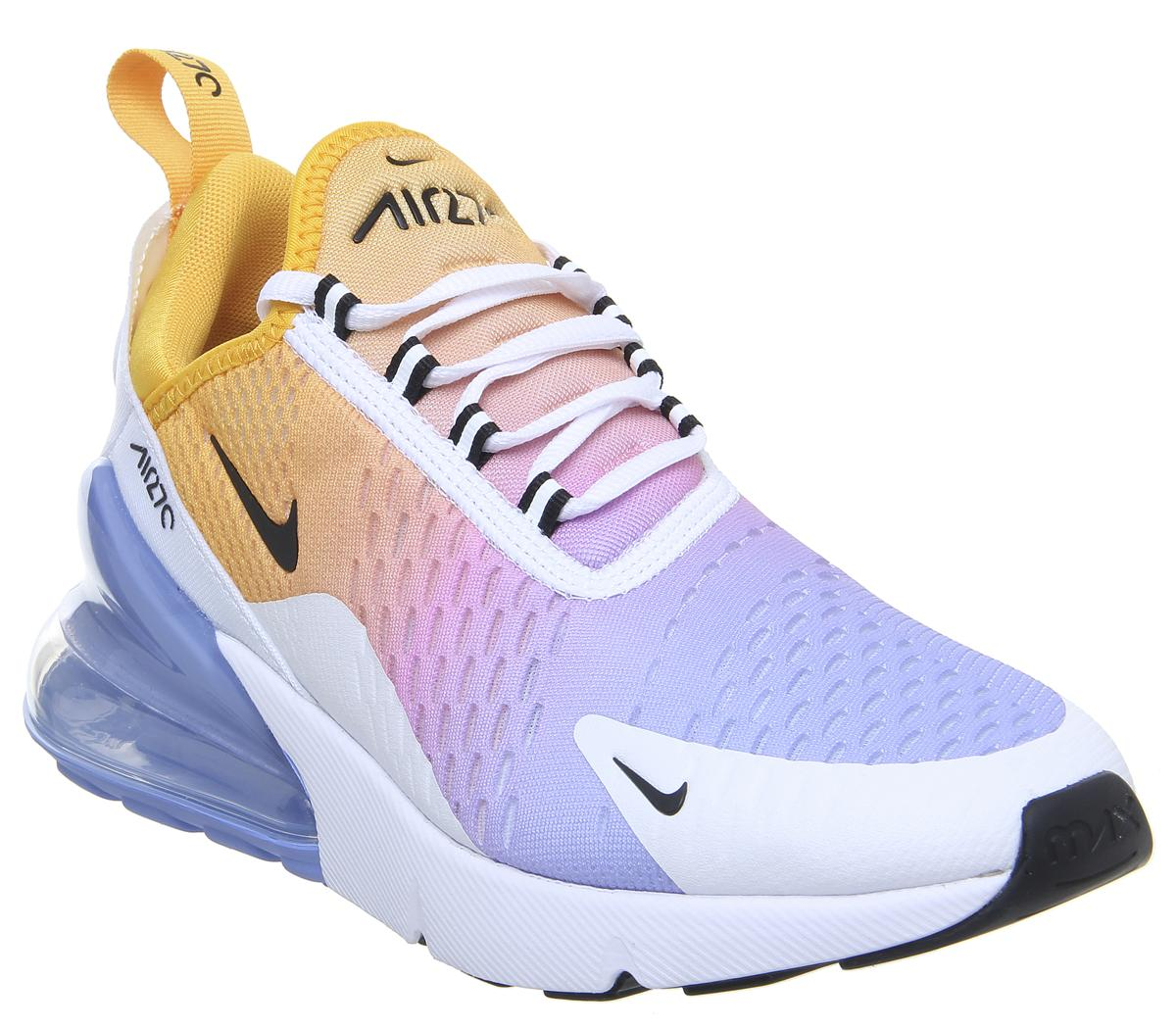 Nike Air Max 270 Trainers University Gold Black University