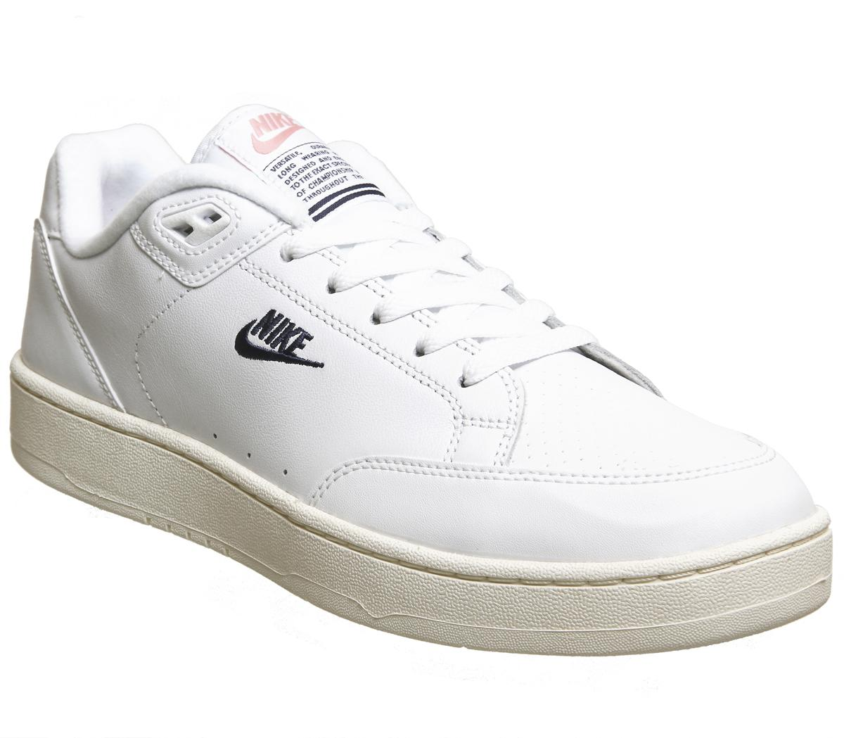 Nike Grandstand 2 White Navy - His trainers