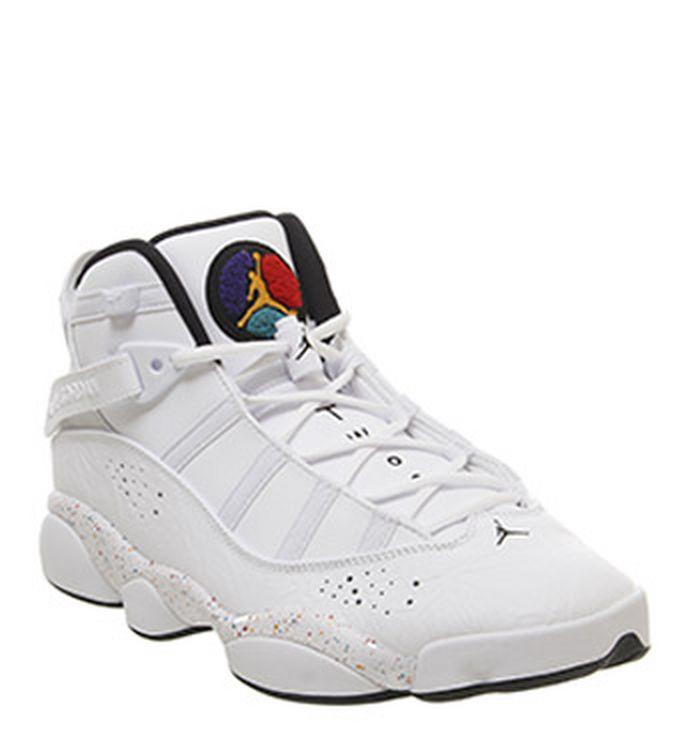 best sneakers cde55 9ef8a Quickbuy. 26-02-2019. Jordan Jordan 6 Rings Trainers White Black White Grey  Fog. £140.00