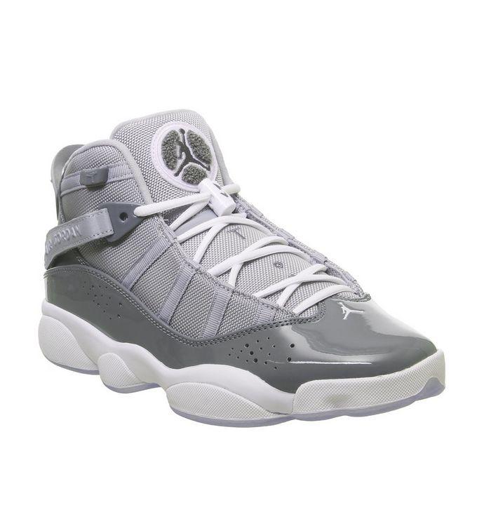 new arrival 35fcc 3e827 Jordan 6 Rings  Jordan, Jordan 6 Rings, Cool Grey White Wolf Grey ...