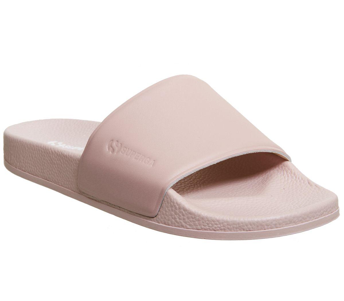 separation shoes 7a7f9 ee23b Superga 1908 Slides Blossom Pink - Sandalen