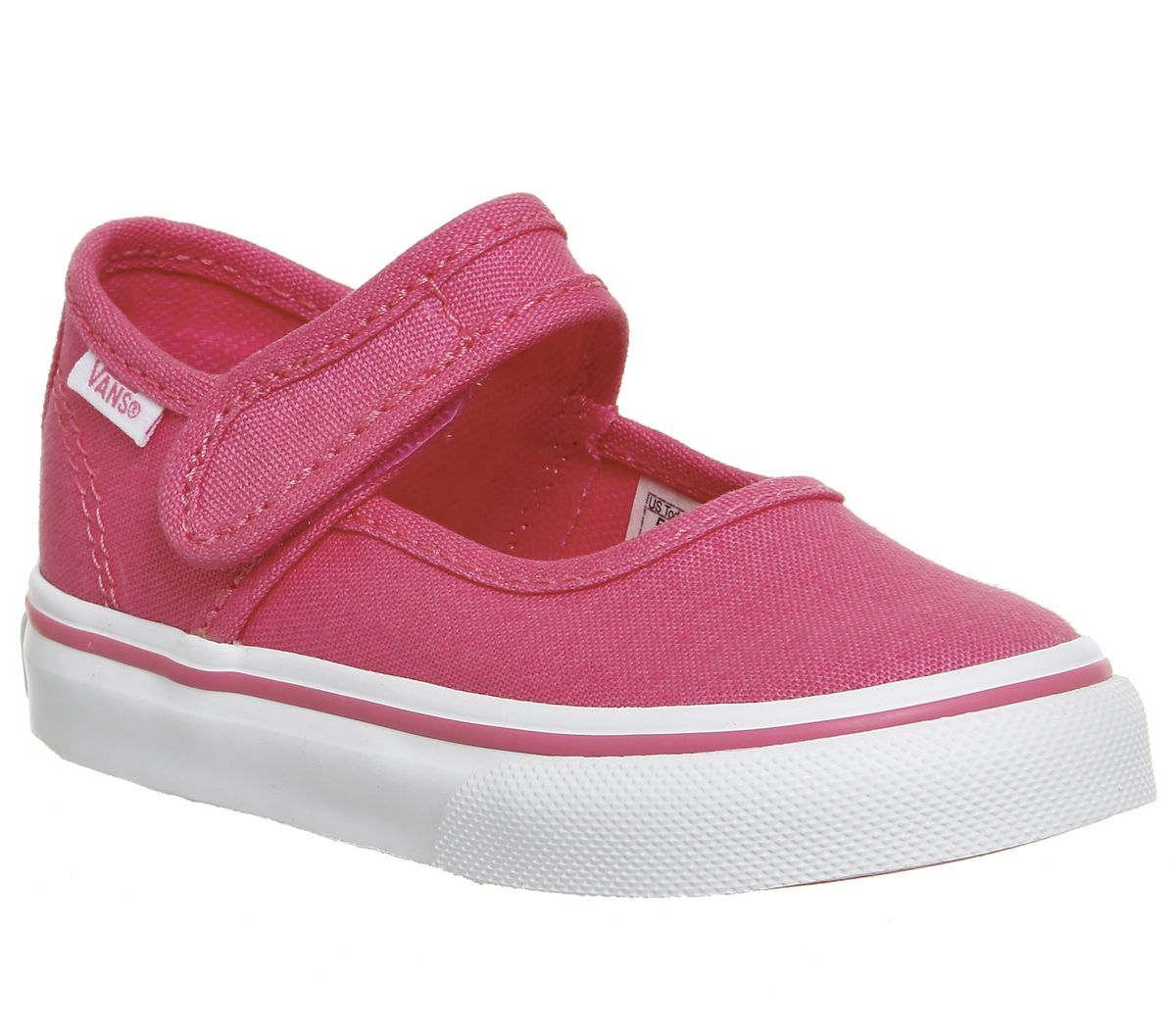 91a895335fde4 Vans Mary Jane Toddler Shoes Hot Pink True White - Unisex