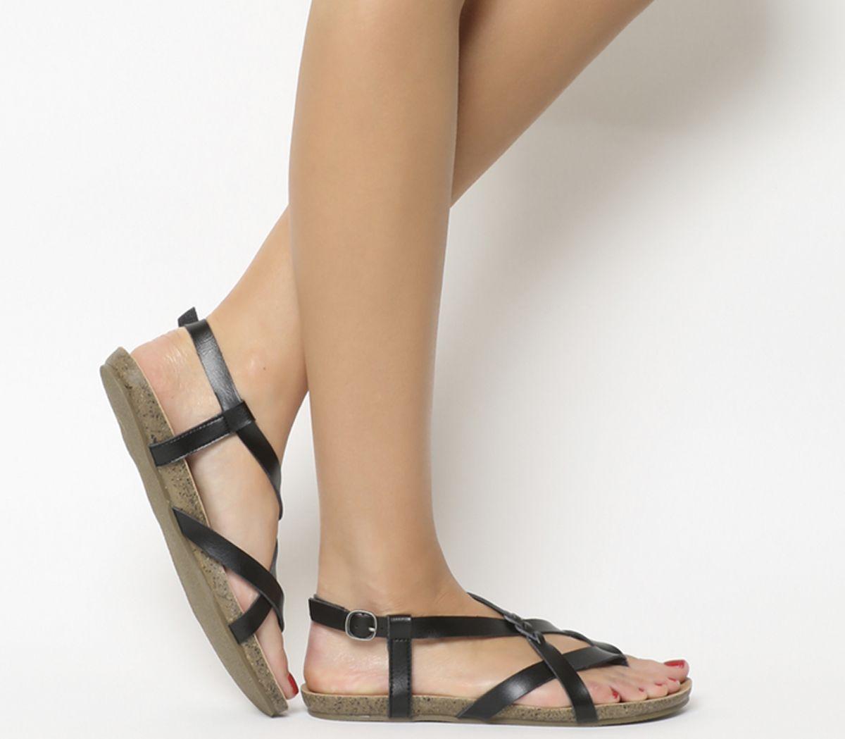 f8048aecf3 Blowfish Granola B Sandals Black Dye Cut - Sandals