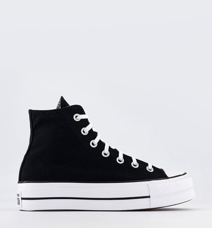 a5cc25ccc738 Converse All Star Hi Leather Black Mono. £64.99. Quickbuy. 09-05-2018